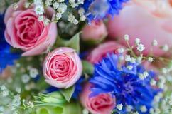 Bridal bouquet in pastel colors Stock Photos