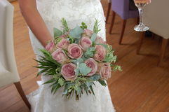 Bridal bouquet. A photo of a bridal bouquet Stock Photography