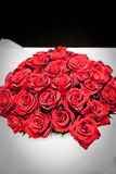 Bridal bouquet of red roses Royalty Free Stock Photos
