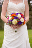 Bridal Bouquet and Rosary Royalty Free Stock Photography