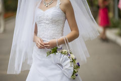 Bridal bouquet rose bride modern Stock Photo