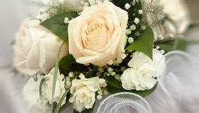bridal bouquet with roses. Royalty Free Stock Images