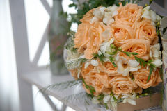Bridal Bouquet of roses Stock Photo