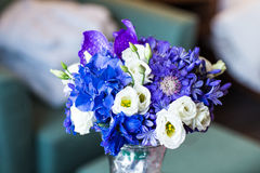 Bridal bouquet of various flowers Royalty Free Stock Photos