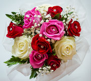 Bridal bouquet. A bridal bouquet, during a wedding Royalty Free Stock Photos