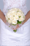 Bridal bouquet on wedding day Royalty Free Stock Images