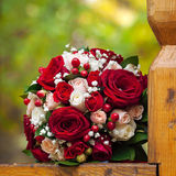 Bridal bouquet at a wedding party Stock Photography
