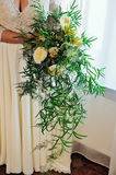 Bridal bouquet. Wedding. succulents Royalty Free Stock Photography