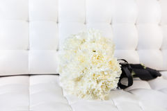 Bridal bouquet of white flowers Stock Photography