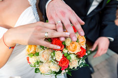 Bridal bouquets wedding Stock Photography