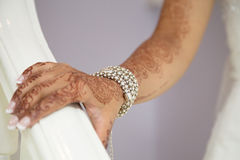 Bridal bracelet Stock Photography