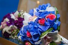 Bridal bukiety Obrazy Stock