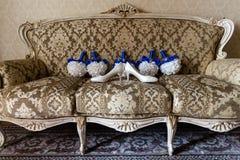 Bridal bukiety kwiaty i obrazy royalty free