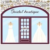 Bridal butik Zdjęcie Stock