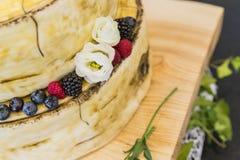 Bridal cake on wedding day. A bridal cake on wedding day stock image