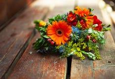Bridal colorful  bouquet Stock Photo