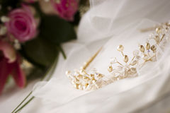 Bridal compositons Stock Images