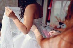 Bridal corset Royalty Free Stock Photo