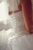 Bridal corset Stock Image