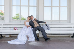 Bridal couple Royalty Free Stock Photo