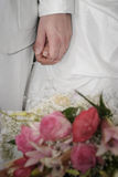 Bridal Couple on the wedding ceremony Stock Photo