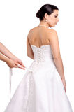 Bridal dress royalty free stock images