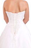 Bridal dress detail Royalty Free Stock Photo