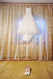Bridal Dress on Moulding Royalty Free Stock Image