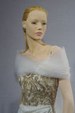 Bridal dresses on the mannequins is seen at A Toast To Tony Ward: A Special Bridal Collection Royalty Free Stock Image