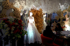 Bridal expo Royalty Free Stock Images