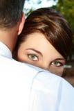 Bridal Eyes Stock Photography