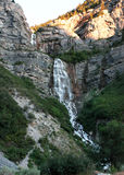 Bridal falls in utah Royalty Free Stock Image
