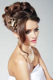 Bridal fashion woman Stock Photography