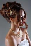 Bridal fashion woman Stock Images