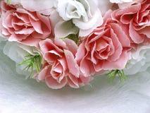Bridal floral arrangement. Pink and white roses, part of bridal floral arrangement Royalty Free Stock Images