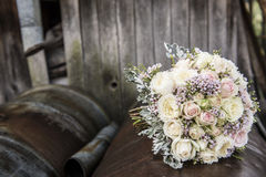 Bridal flower bouquet Royalty Free Stock Photo