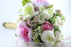 Bridal flowers. Beautiful and colorful flowers for brides Royalty Free Stock Photos