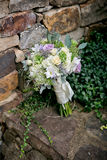 Bridal Flowers. Bouquet with mix flowers Stock Photos