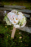 Bridal Flowers. Bouquet with mix flowers Royalty Free Stock Photo