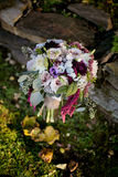 Bridal Flowers. Bouquet with mix flowers Royalty Free Stock Photos