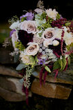 Bridal Flowers. Bouquet with mix flowers Royalty Free Stock Photography