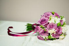 Bridal flowers. Pink and white bridal flowers Royalty Free Stock Photo
