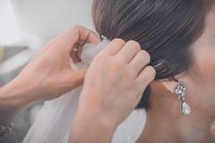 Bridal fryzury koronować mod akcesoria Zdjęcie Stock