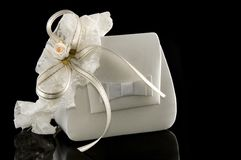 Bridal garter and a purse Royalty Free Stock Image