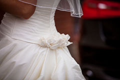 Bridal gown Royalty Free Stock Photography