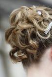 Bridal hair style Stock Image