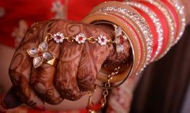 Bridal hand Stock Photo