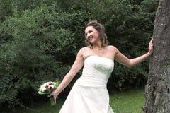 Bridal happiness Stock Image