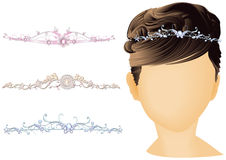 Bridal Headwear Royalty Free Stock Photography