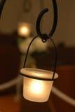 Bridal Image. Illuminate the burn load, very graceful and elegant candlelight Stock Photo